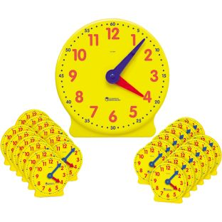 Big Time Clocks - Demo Clock And 24 Mini Clocks
