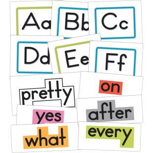 Word Wall Bulletin Board Set