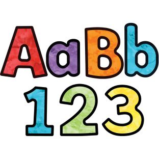 Celebrate Learning Watercolor Combo Pack EZ Letters