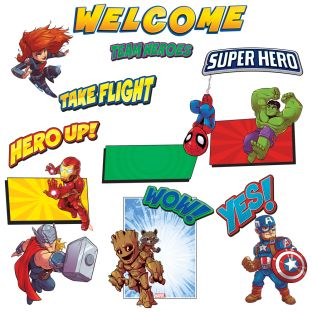 Marvel™ Superhero Adventure Welcome Bulletin Board Set