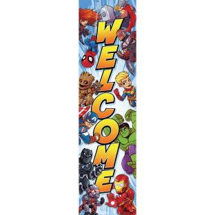 Marvel™ Superhero Adventure Vertical Welcome Banner
