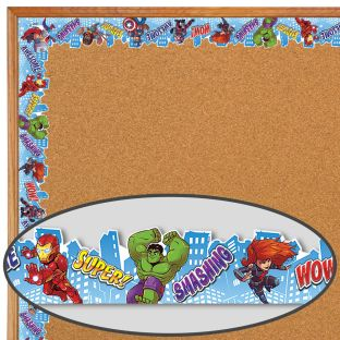 Marvel™ Superhero Adventure Extra Wide Deco Trim - 1 border trim