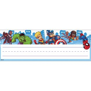 Marvel™ Superhero Adventure Self-Adhesive Name Plates