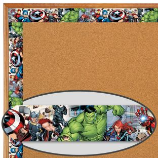 Marvel™ Superhero Extra-Wide Deco Trim