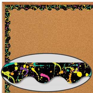 Rock The Classroom Colorful Scalloped Deco Trim