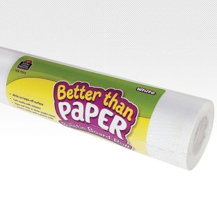 Better Than Paper Bulletin Board Rolls – White