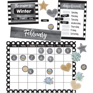 Simply Stylish Calendar Bulletin Board Set