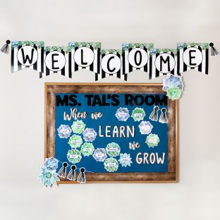 Simply Stylish Classroom Décor Collection