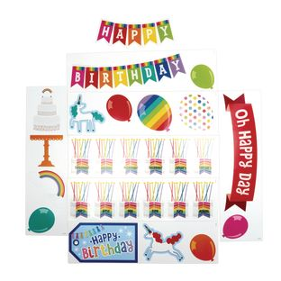 Hello Sunshine Birthday Mini Bulletin Board Set