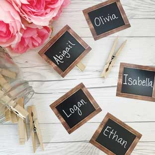 Chalkboard Mini Cutouts