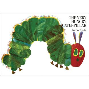 The Very Hungry Caterpillar Book - 1 hardcover book
