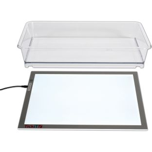 Ultra Bright LED Light Exploration Kit - 1 light panel