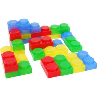 SiliShapes® Soft Bricks