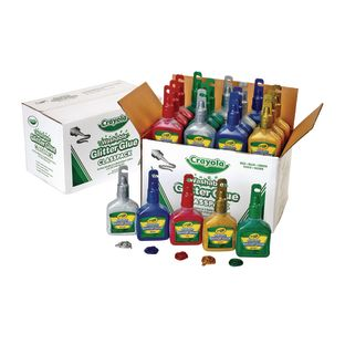 Washable Glitter Glue Classpack