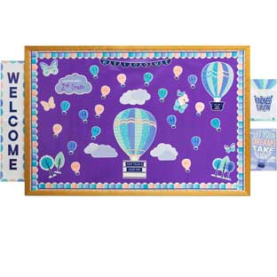 Calm and Cool Classroom Decor Collection - 1 multi-item kit