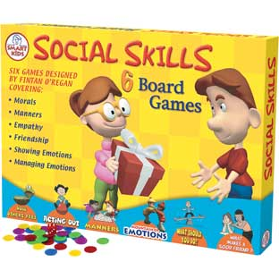 Social Skills Board Games - 6 board games