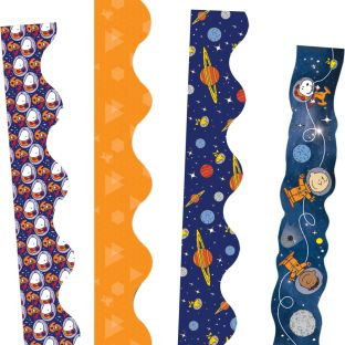 Peanuts® In Space Border Trim Bundle - 4 border trims