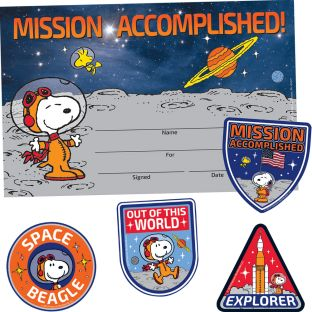 Peanuts In Space Incentive Kit