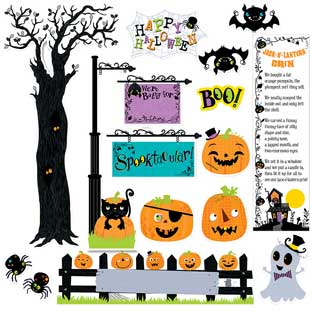 Happy Halloween Mini Bulletin Board