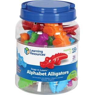 Snap-N-Learn™ Alphabet Alligators