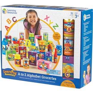 A To Z Alphabet Groceries - 26 pieces