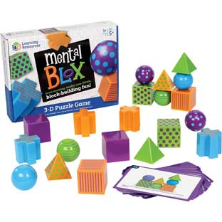 Mental Blox - 20 blocks, 20 activity cards