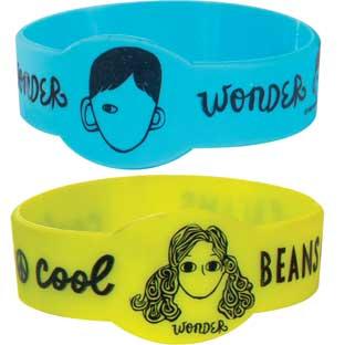 Wonder Silicone Bracelets - 24 bracelets