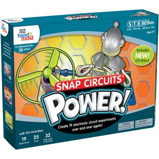 STEM At Play Power! - Materials for 19 experiments
