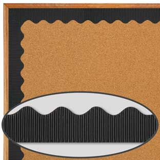 Bordette® Black - 1 border trim