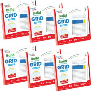 Build-A-Grid, Student Grid - Set of 6