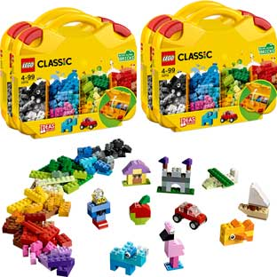LEGO® Classic Creative Suitcases - Set of 4