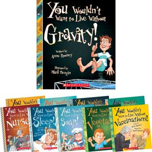 You Wouldn't Want To – Science 10-Book Set
