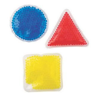 Gel Bead Sensory Shapes – Set Of 6