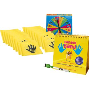 Teacher Flip Book Kit With 20 Handee Bands - 1 multi-item kit