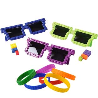 Building Bricks Wearables – Set Of 12