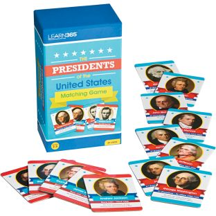 Presidents Matching Game - 1 game