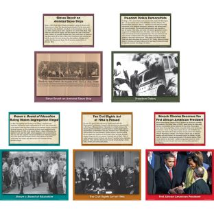 Black History Events Accents - 48 pieces
