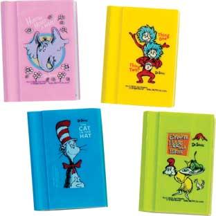 Dr. Seuss™ Book Erasers – Set Of 12