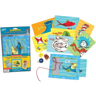 Dr. Seuss™ Trace and Learn Fun Board - 1 board, 6 cards, 4 strings
