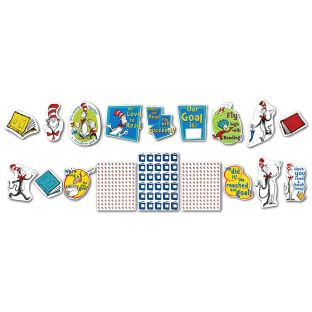 Cat In The Hat™ Reading Goal Kit Bulletin Board Set