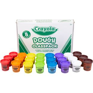 Crayola Dough Classpack  3 Sets Of 8 Assorted Colors