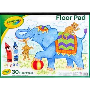 Crayola® Floor Pad – 30 Floor Pages - 1 floor pad