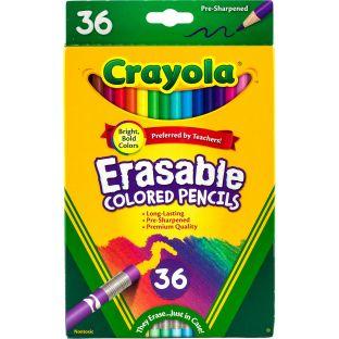 Crayola Erasable Colored Pencils  Set Of 36