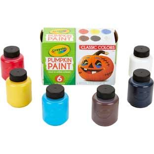 Crayola® Acrylic Pumpkin Paints – Set Of 6