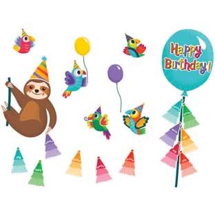 One World Birthday Bulletin Board Set