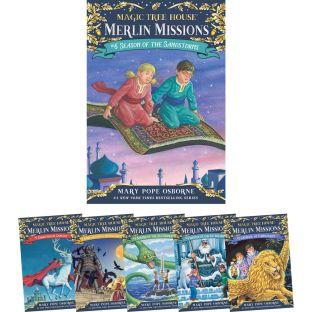 Magic Tree House Merlin Missions Set 1