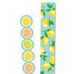 Lemon Zest Border Trim Bundle - 2 border trims