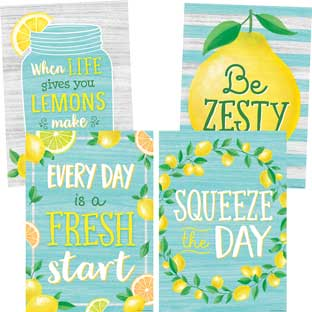 Lemon Zest Poster Pack