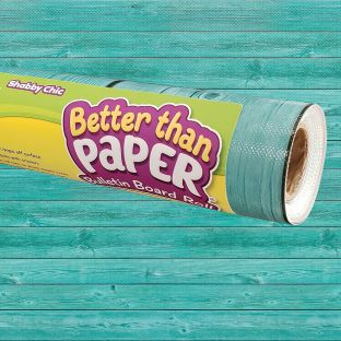 Better Than Paper Bulletin Board Roll Shabby Chic Wood - 1 roll