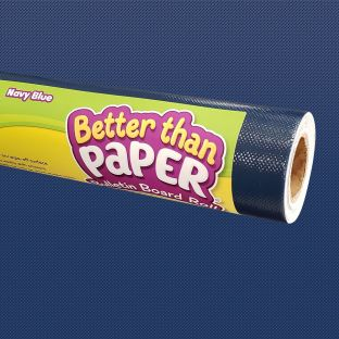 Better Than Paper Bulletin Board Roll  Navy Blue - 1 roll